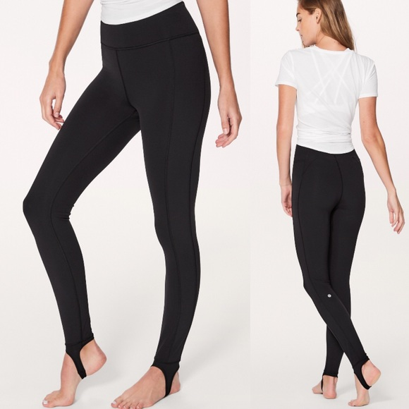 edc276ab4aaca1 lululemon athletica Pants | Nwtlululemon Hold On Tight Stirrup ...